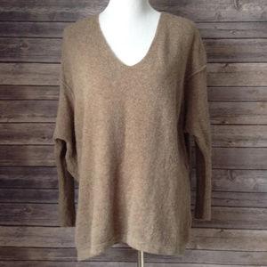 Free People Dolman Oversized Wool Blend Sweater